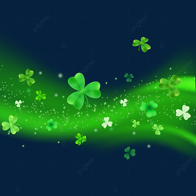 st patrick s day green decorative beam