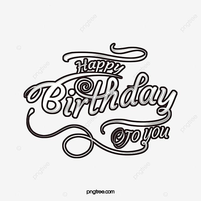 birthday anniversary delicate birthday font