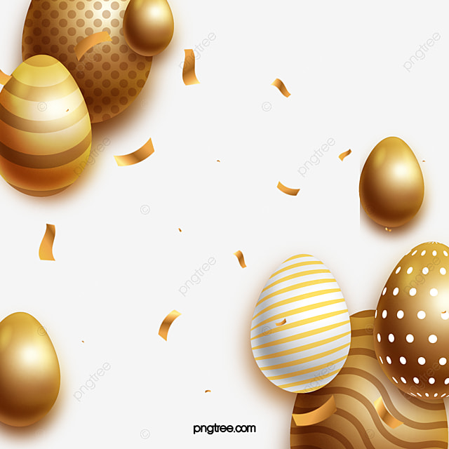 cute easter eggs decorative easter border