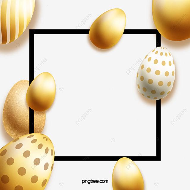 golden egg decorative pattern