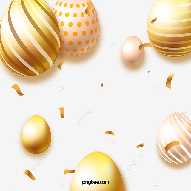 golden hand painted decorative eggs