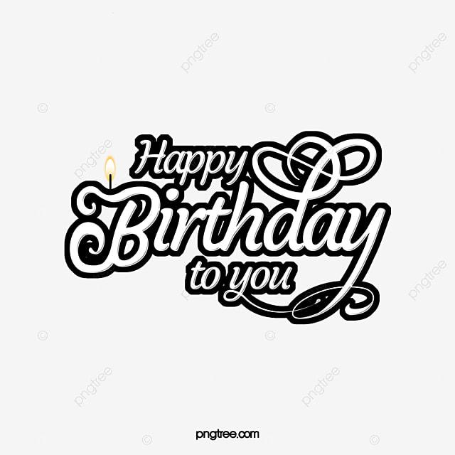 happy birthday art words