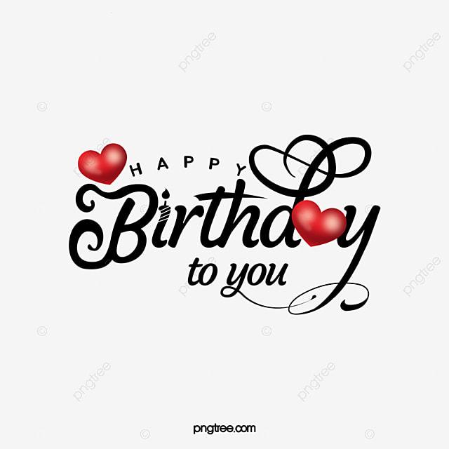 happy birthday creative celebration font