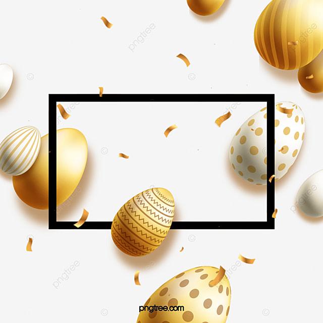 happy easter egg decoration