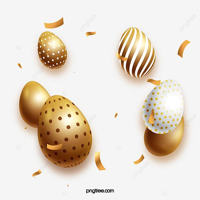 polished golden easter egg