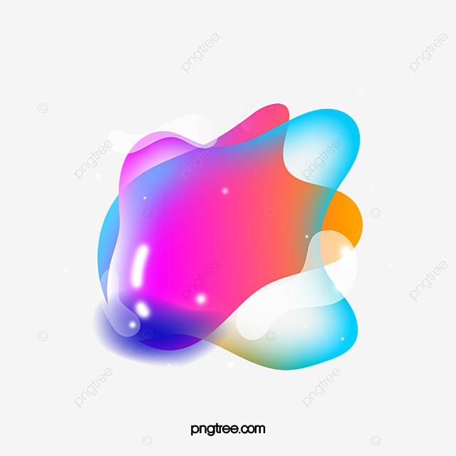 color gradient bubble element