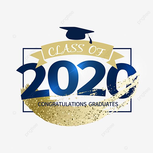 2020 creative texture graduation border