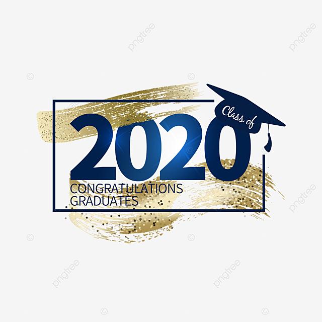 2020 graduation creative graphics