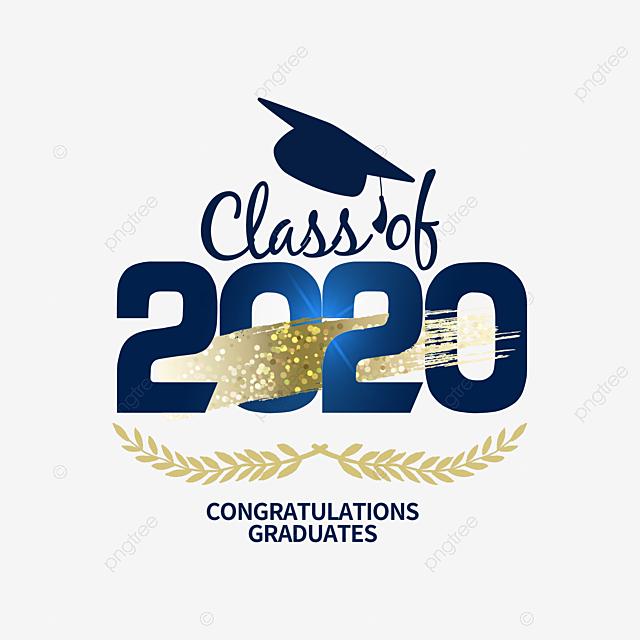 2020 graduation creative logo