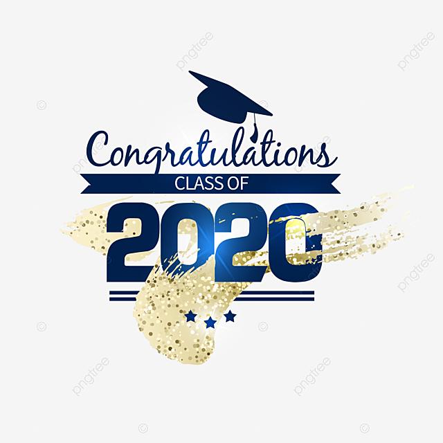 2020 graduation creative pattern