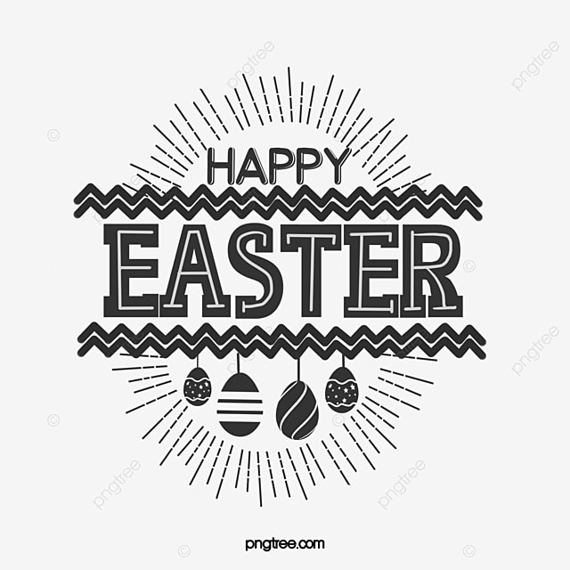 black resurrection egg art deco word