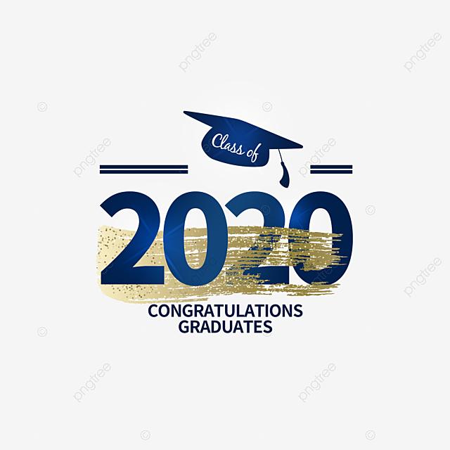graduation label of 2020