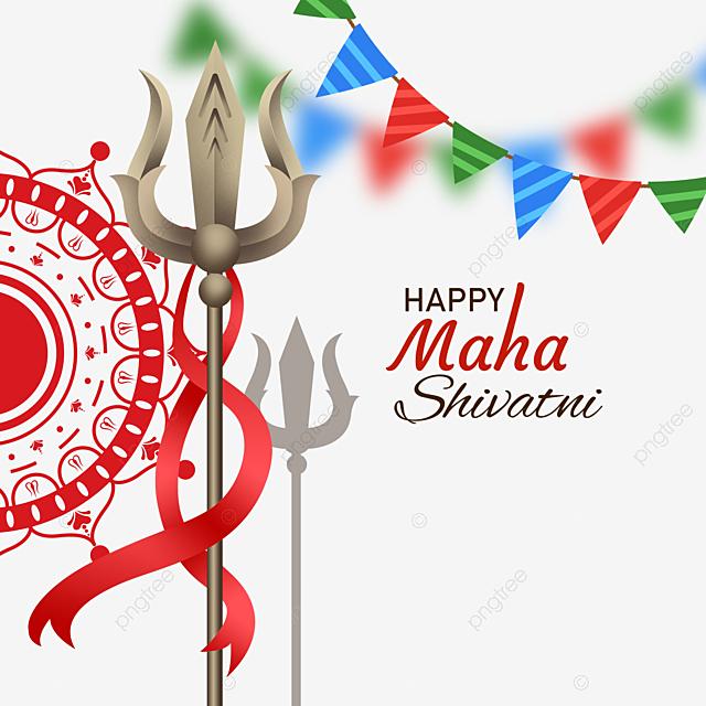 happy shiva day decoration