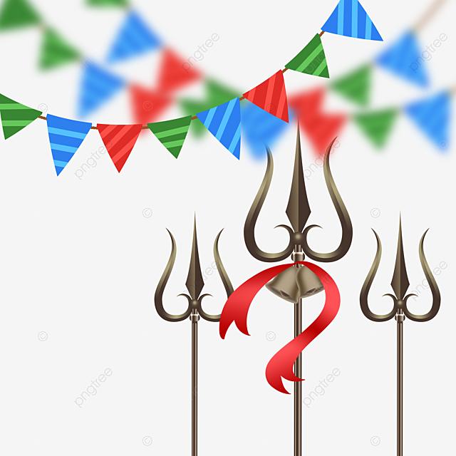 shiva festival celebration bunting