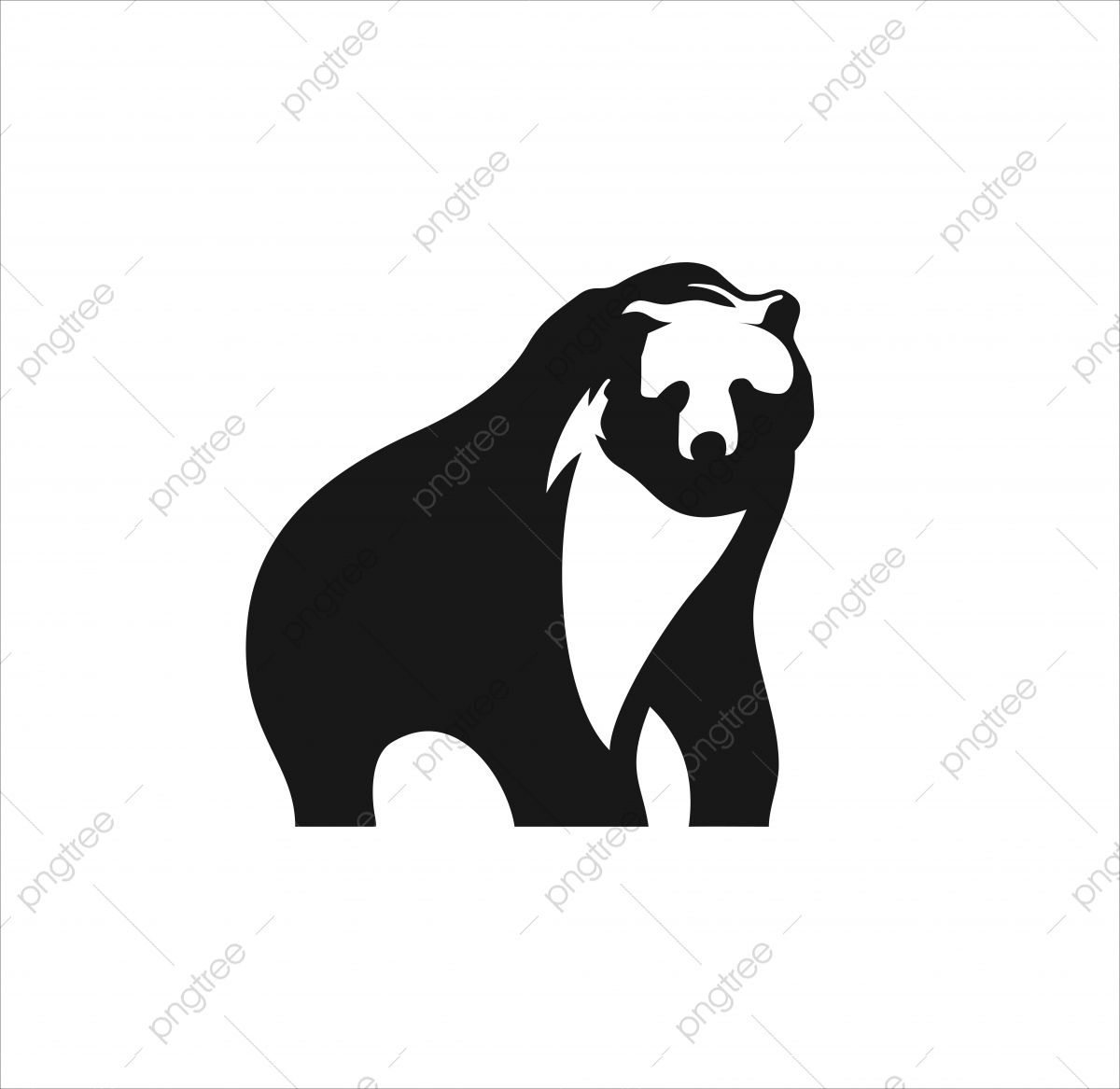 bear logo design icon vector logo icons bear icons illustration png and vector with transparent background for free download https pngtree com freepng bear logo design icon vector 5229803 html