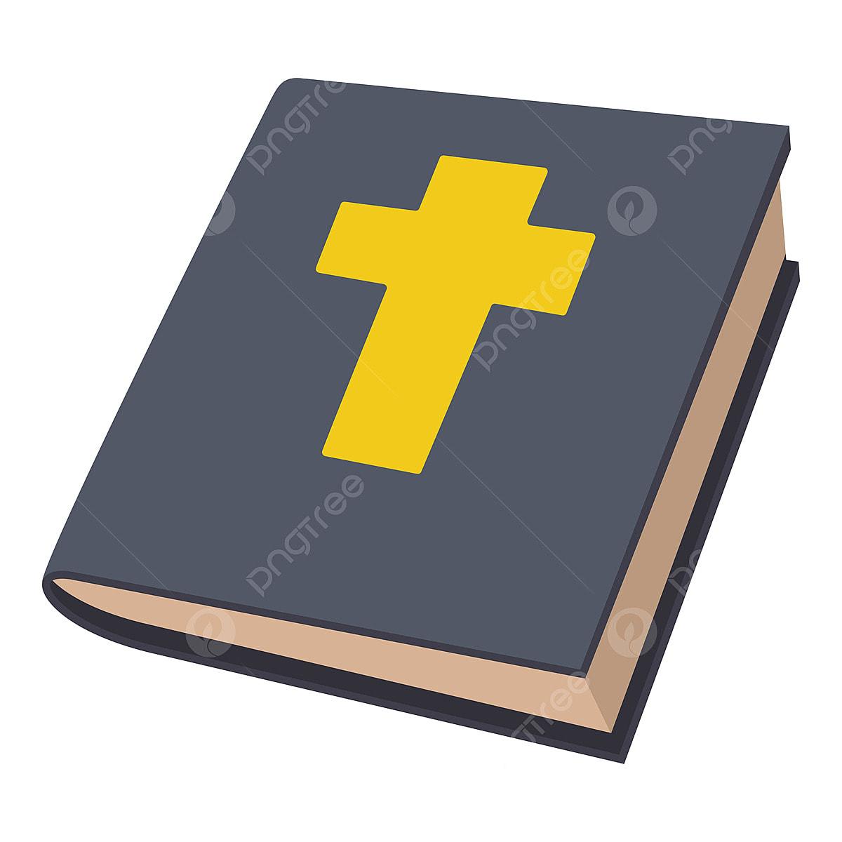 Estilo De Desenho Animado De Icone De Biblia Biblia Icon Cartoon Png E Vetor Para Download Gratuito