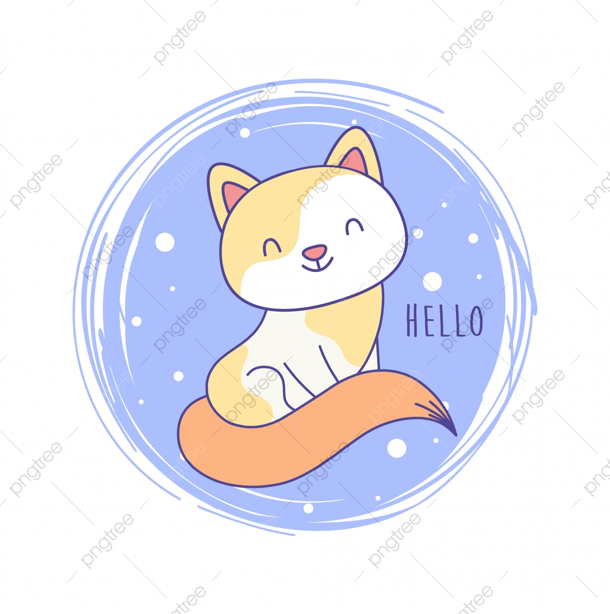Cute Cat Cartoon Hand Draw Vector Cute Drawing Png And Vector With Transparent Background For Free Download