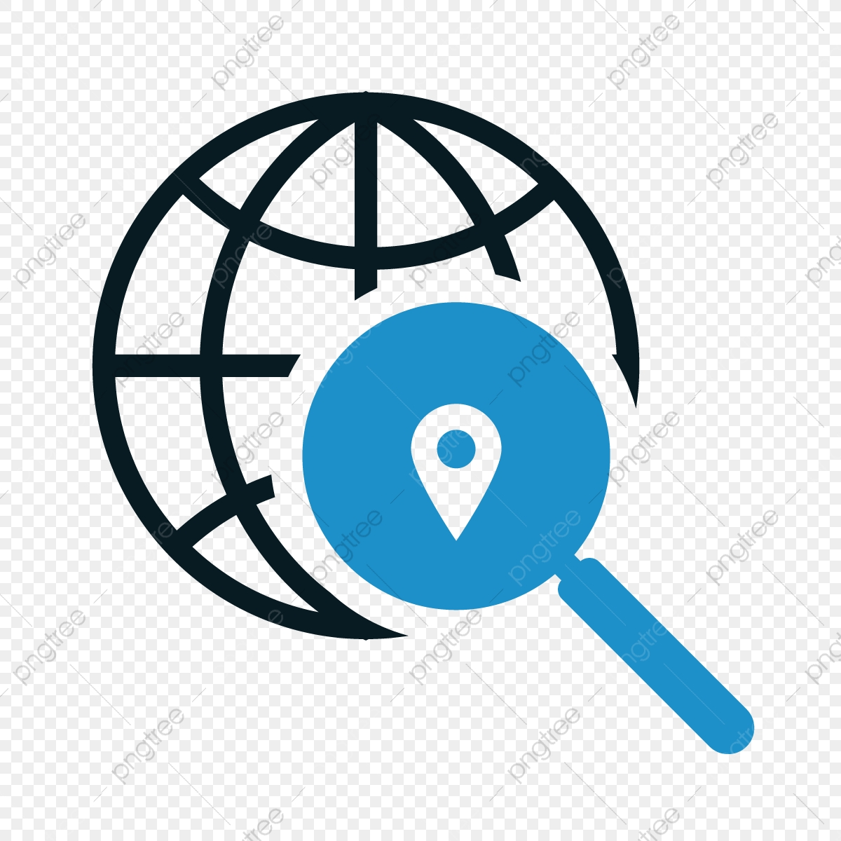 Globe Internet Search Icon Vector Illustration For Web Search Icons Web Icons Internet Icons Png And Vector With Transparent Background For Free Download