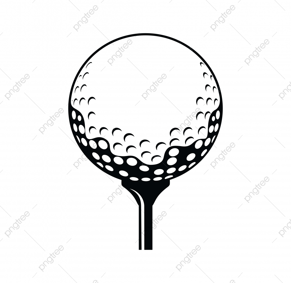 Golf Ball Vector Icon Black And White Black Icons White Icons Golf Icons Png And Vector With Transparent Background For Free Download