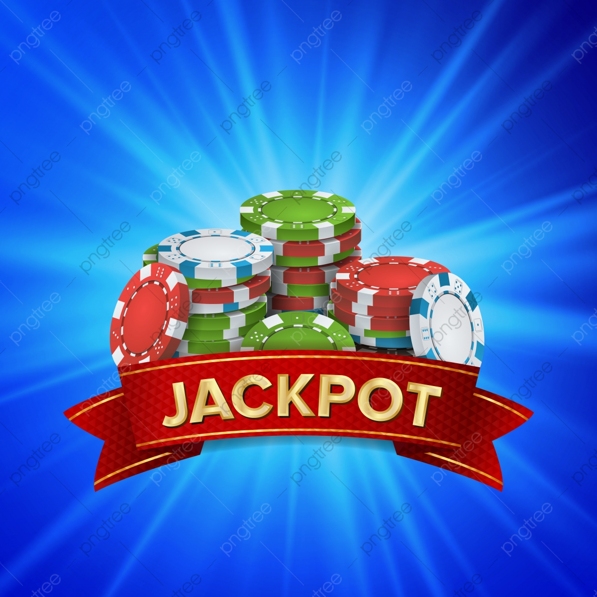 Jackpot Big Win Sign Vector Background Design For Online Casino Poker Roulette Slot Machines Playing Cards Mobile Game Casino Poker Chips Png And Vector With Transparent Background For Free Download