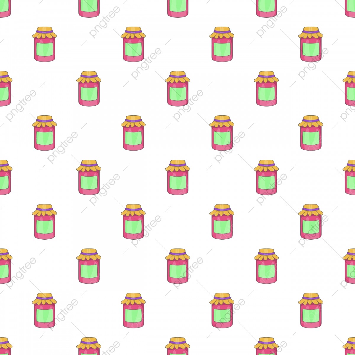 Jam pots stock vector. Illustration of tradtional, spread - 10984665