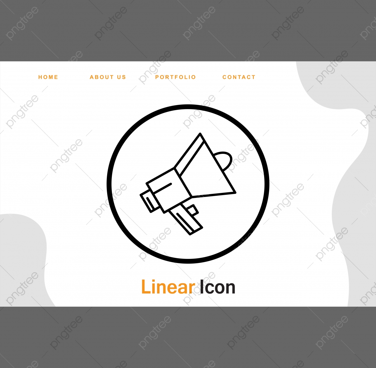 Speaker Icon For Your Project Project Icons Speaker Icons Announcement Icon Png And Vector With Transparent Background For Free Download