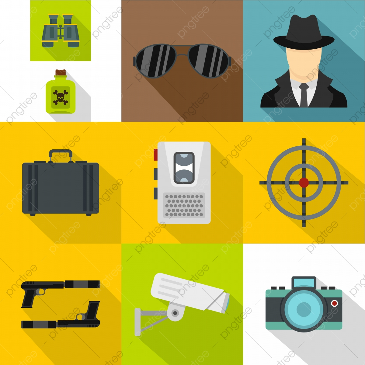 spy png images vector and psd files free download on pngtree https pngtree com freepng spy icons set flat style 5233383 html