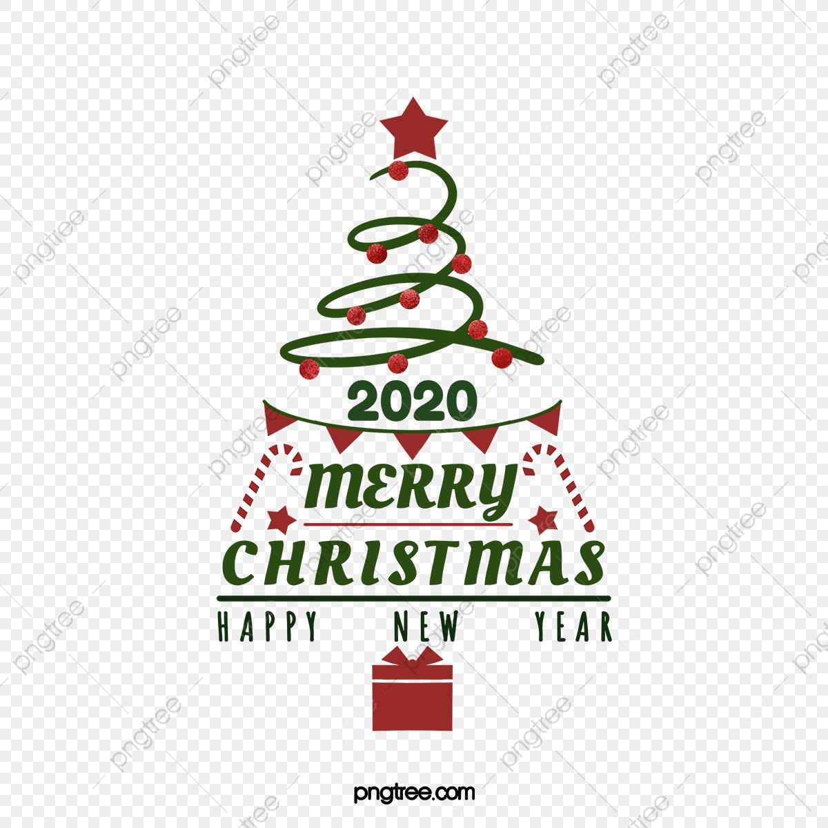 Merry Christmas 2020 Clip Art 2020 Christmas Creative Blessing, Christmas, Merry Christmas, Word