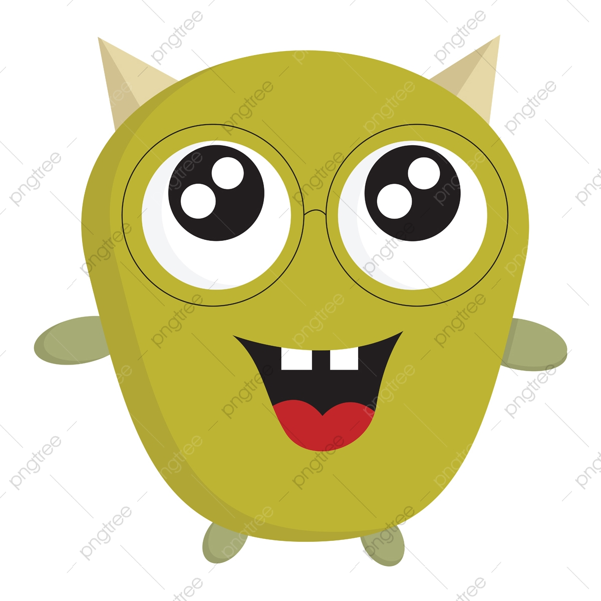 cute baby monster clipart download - cute baby monsters clipart PNG image  with transparent background | TOPpng