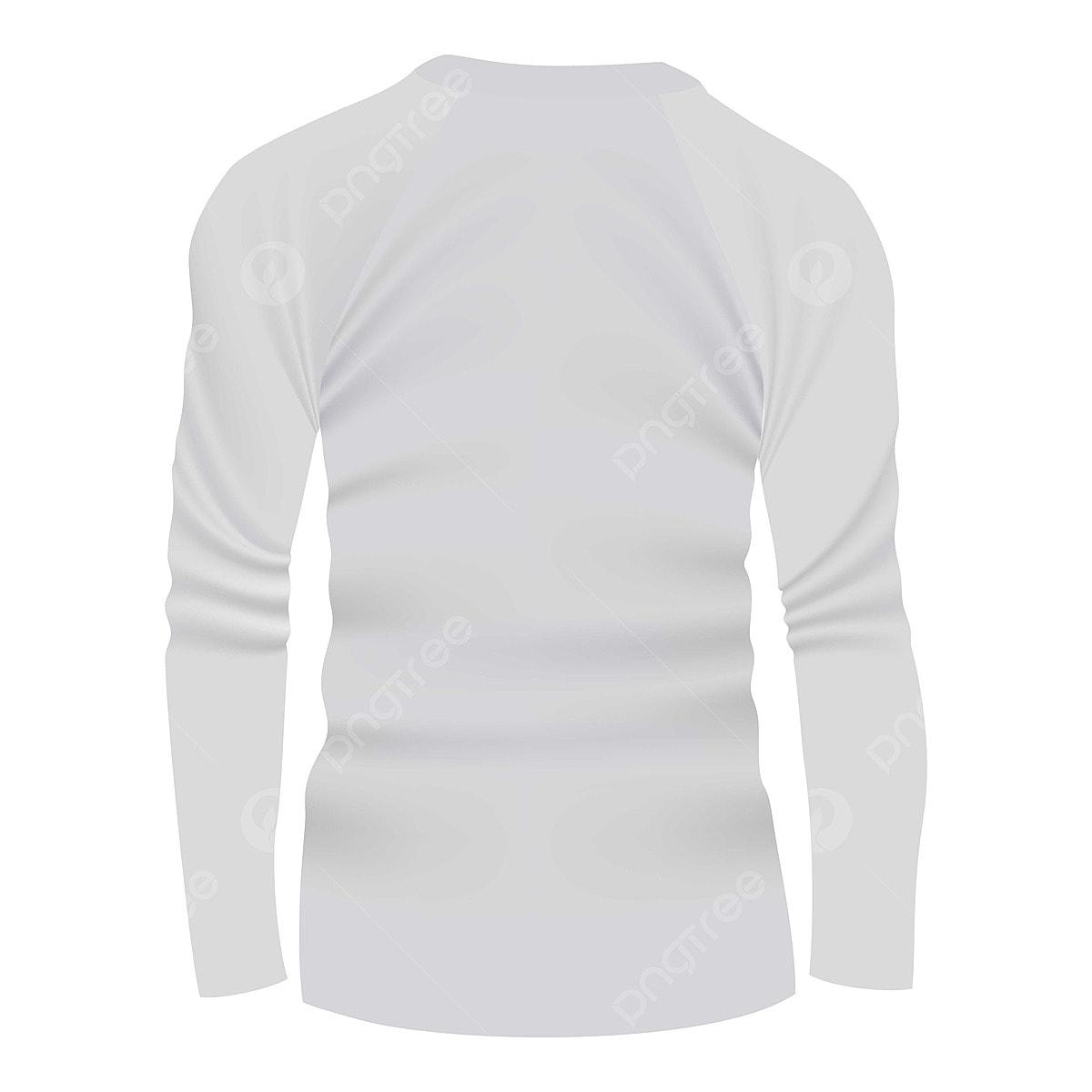Gambar Belakang Baju Putih Baju Lengan Panjang Ikon Belakang Ikon Putih Ikon Tshirt Png Dan Vektor Untuk Muat Turun Percuma