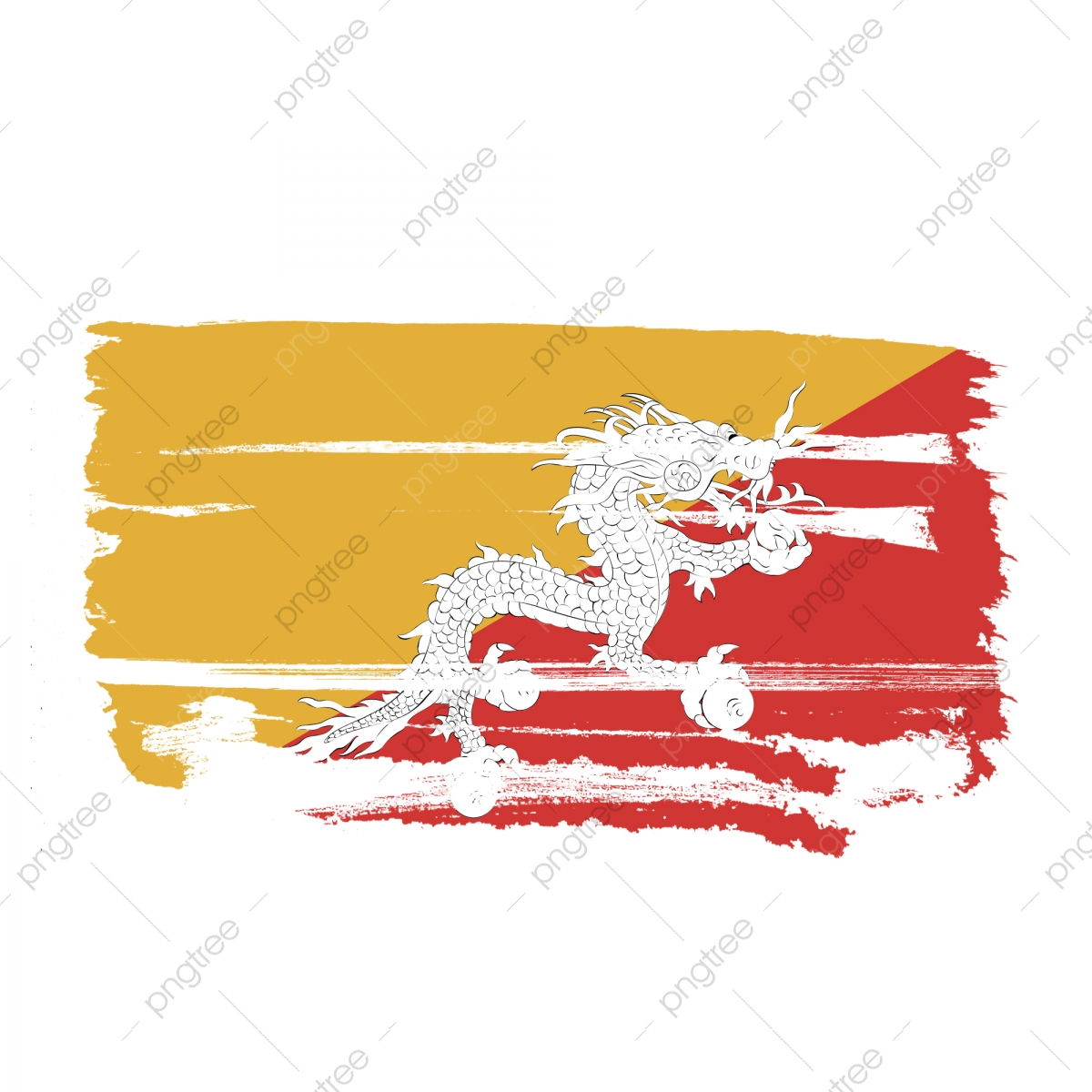 Bhutan Flag Png Images Vector And Psd Files Free Download On Pngtree