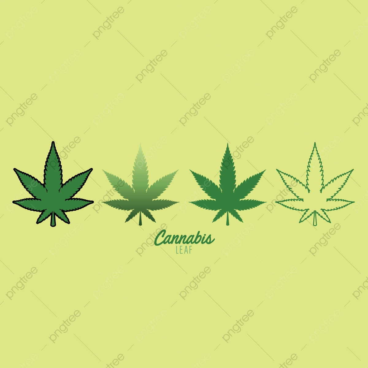 Cannabis Marijuana Weed Leaf Illustration Vector Leaf Cannabis Plant Png And Vector With Transparent Background For Free Download
