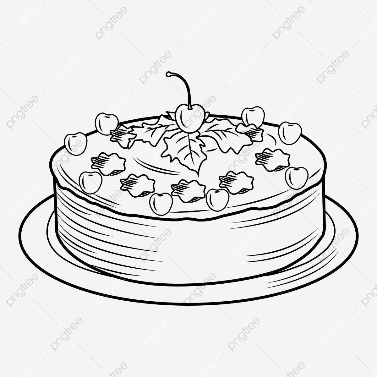 Christmas Cake With Chocolate, Sparklers And Candle Royalty Free Cliparts,  Vectors, And Stock Illustration. Image 20620802.