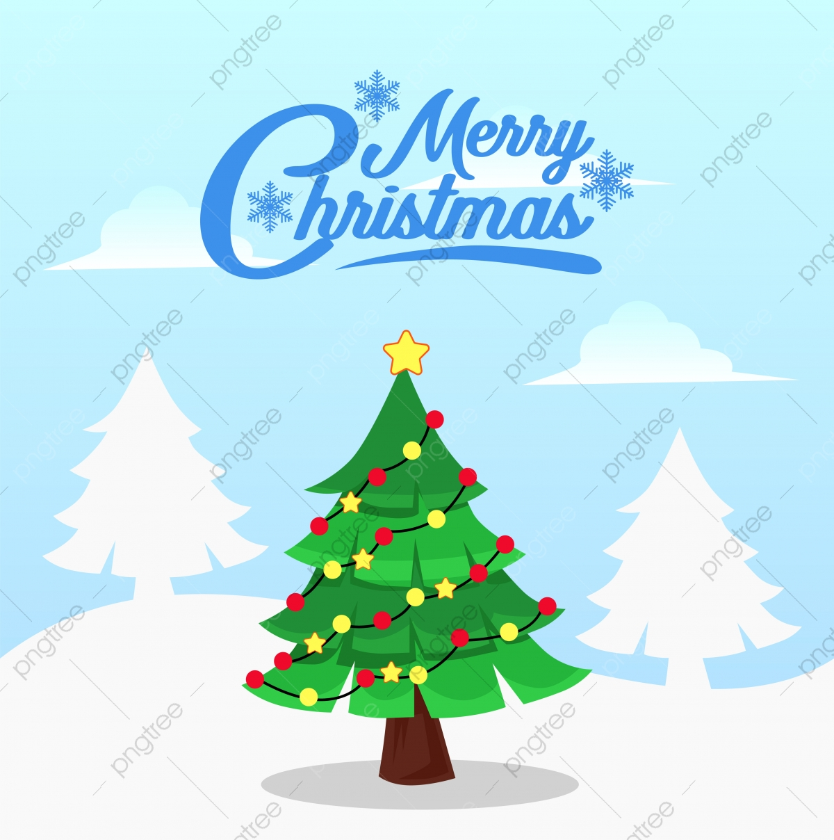 Christmas Fir Tree Decoration Flat Cartoon Style With Snow View Holiday Christmas Realistic Png And Vector With Transparent Background For Free Download Christmas tree is an essential attribute of christmas and new year. https pngtree com freepng christmas fir tree decoration flat cartoon style with snow view 5280582 html