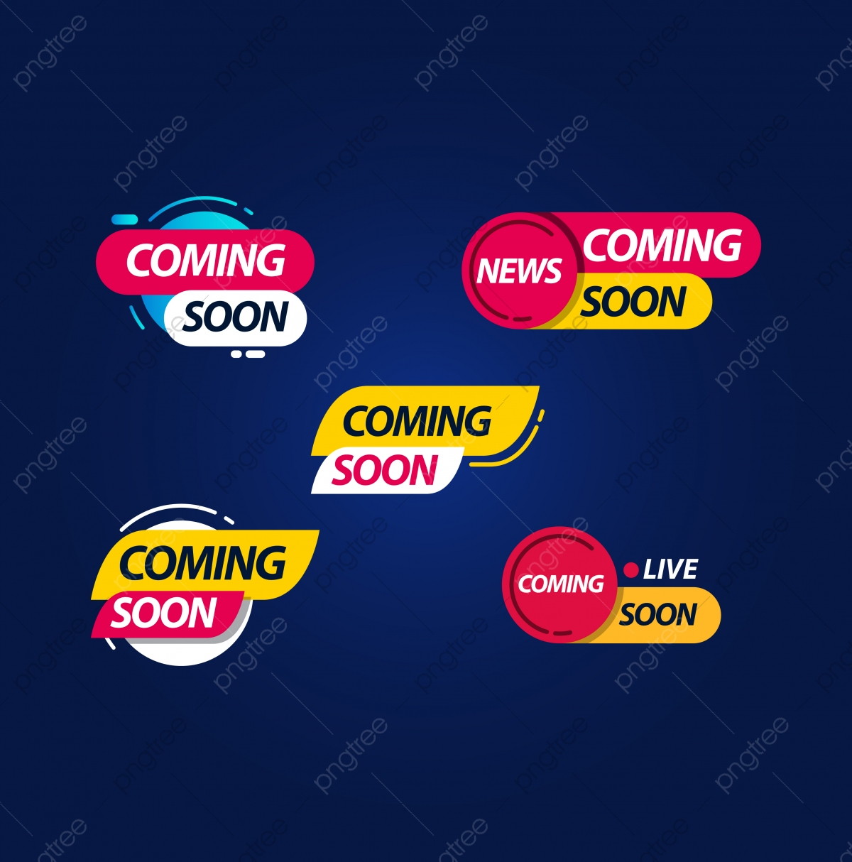 Coming Soon Live Label Logo Vector Template Design Illustration Logo Icons Live Icons Template Icons Png And Vector With Transparent Background For Free Download