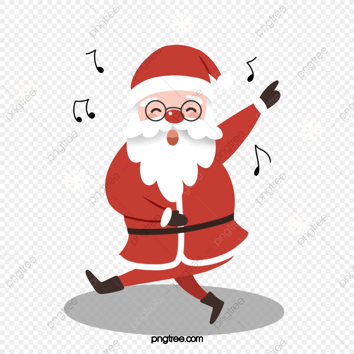 Cute Dancing Santa Santa Claus Christmas Dance Png Transparent Clipart Image And Psd File For Free Download
