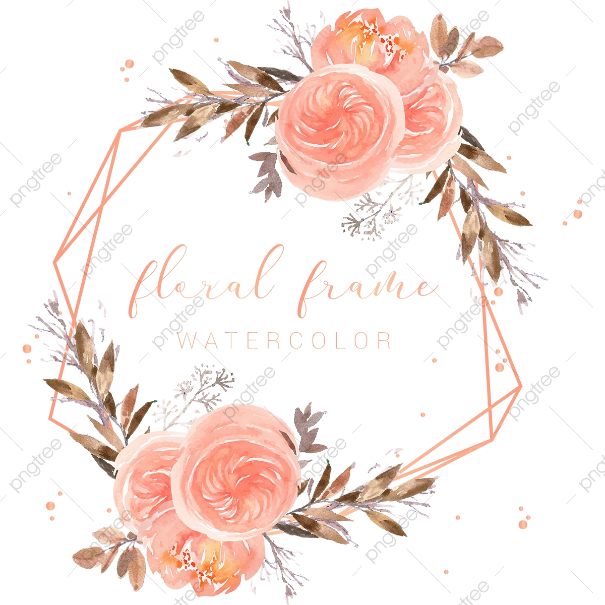 elegant peach frame watercolor peach flowers illustration floral branch branches png and vector with transparent background for free download https pngtree com freepng elegant peach frame watercolor peach flowers illustration 5257526 html