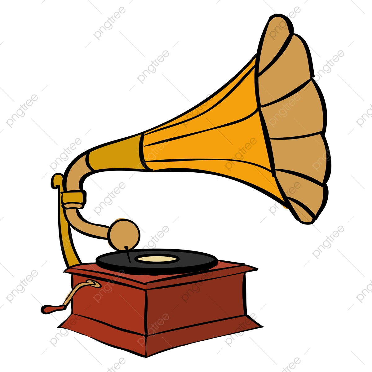 gramophone illustration vector on white background gramophone vector illustration png and vector with transparent background for free download https pngtree com freepng gramophone illustration vector on white background 5283034 html