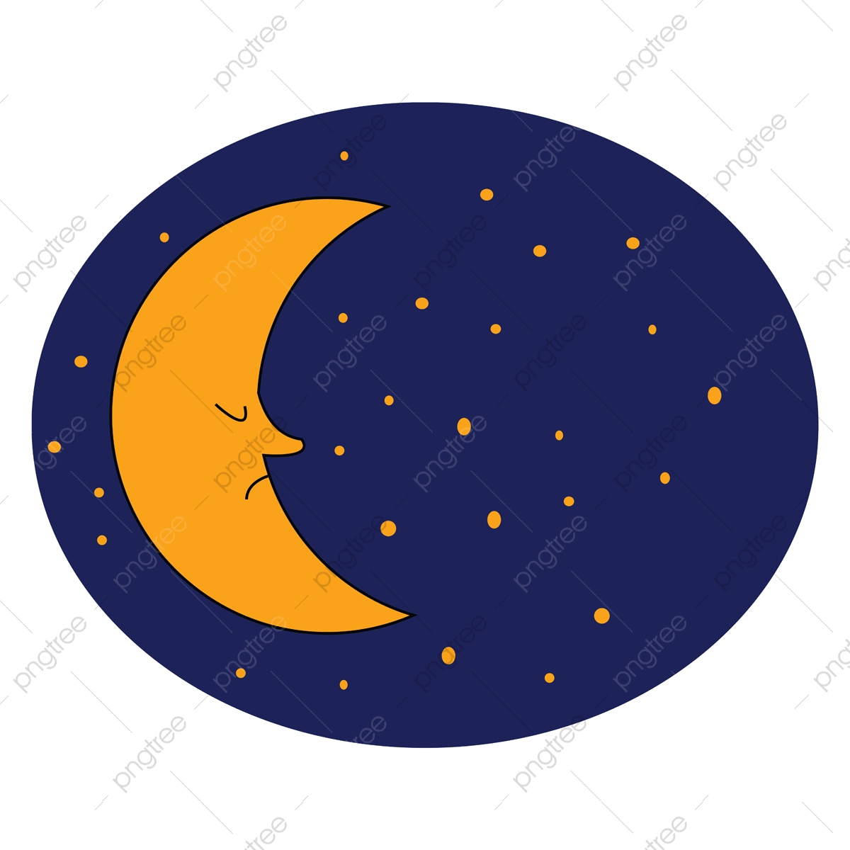 half crescent moon vector or color illustration half crescent moon png and vector with transparent background for free download https pngtree com freepng half crescent moon vector or color illustration 5289133 html