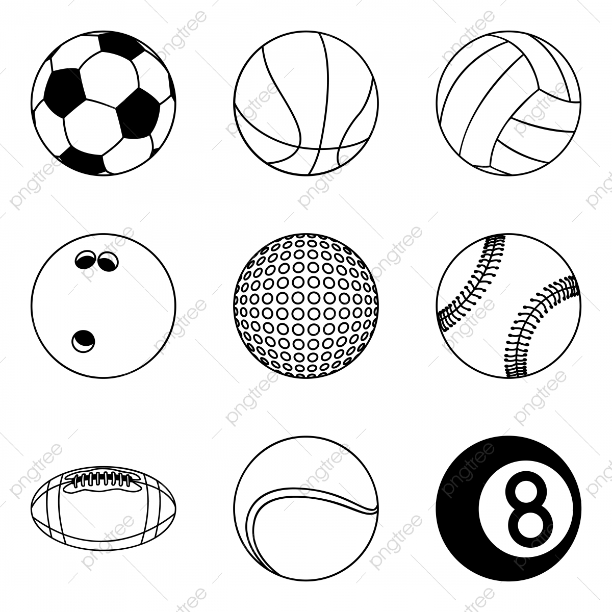 Sports Balls Png Vector Psd And Clipart With Transparent Background For Free Download Pngtree