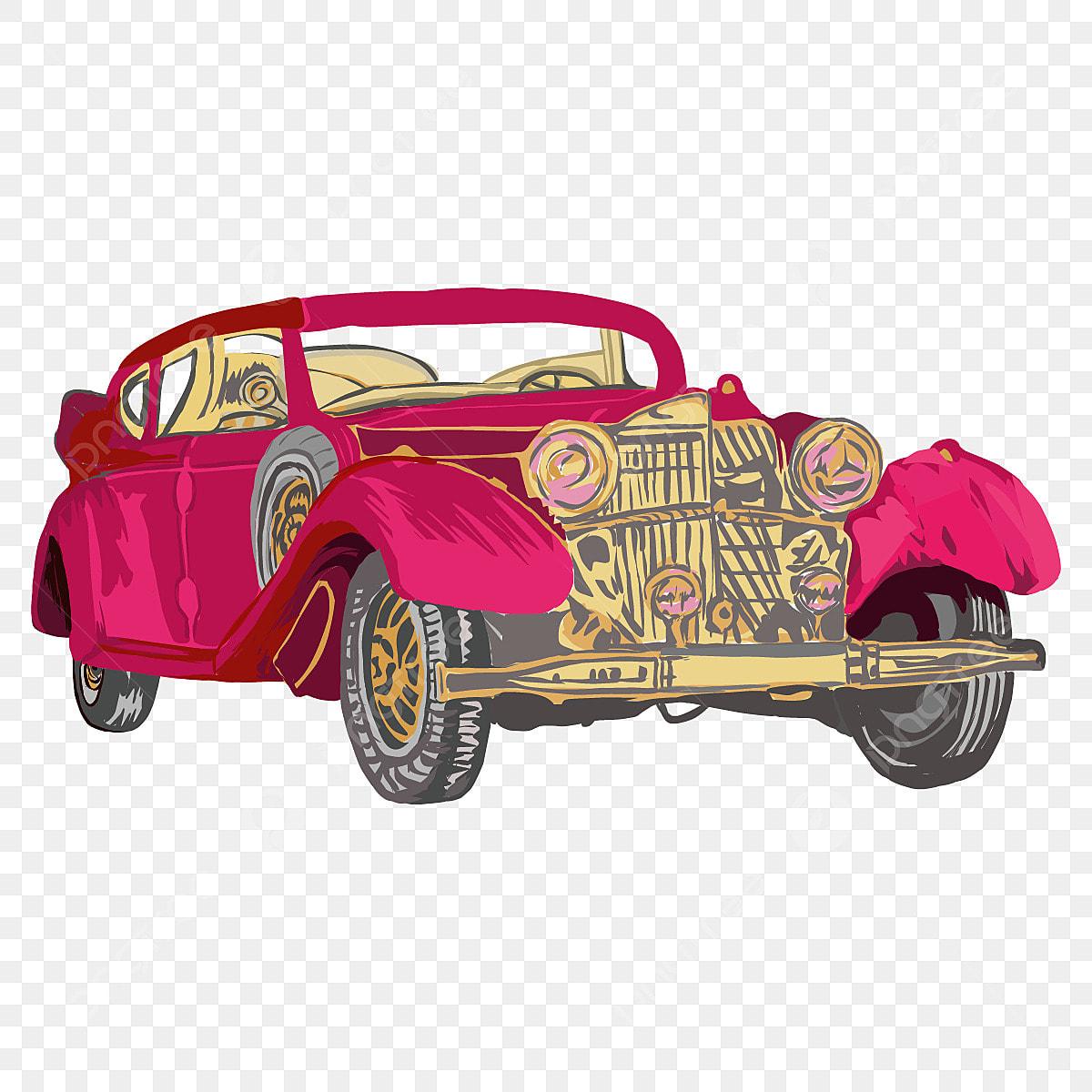 Gambar Ilustrasi Mobil Klasik Merah Dengan Latar Belakang Putih Ikon Bulat Spanduk Bundar Mobil Klasik Png Dan Vektor Dengan Latar Belakang Transparan Untuk Unduh Gratis