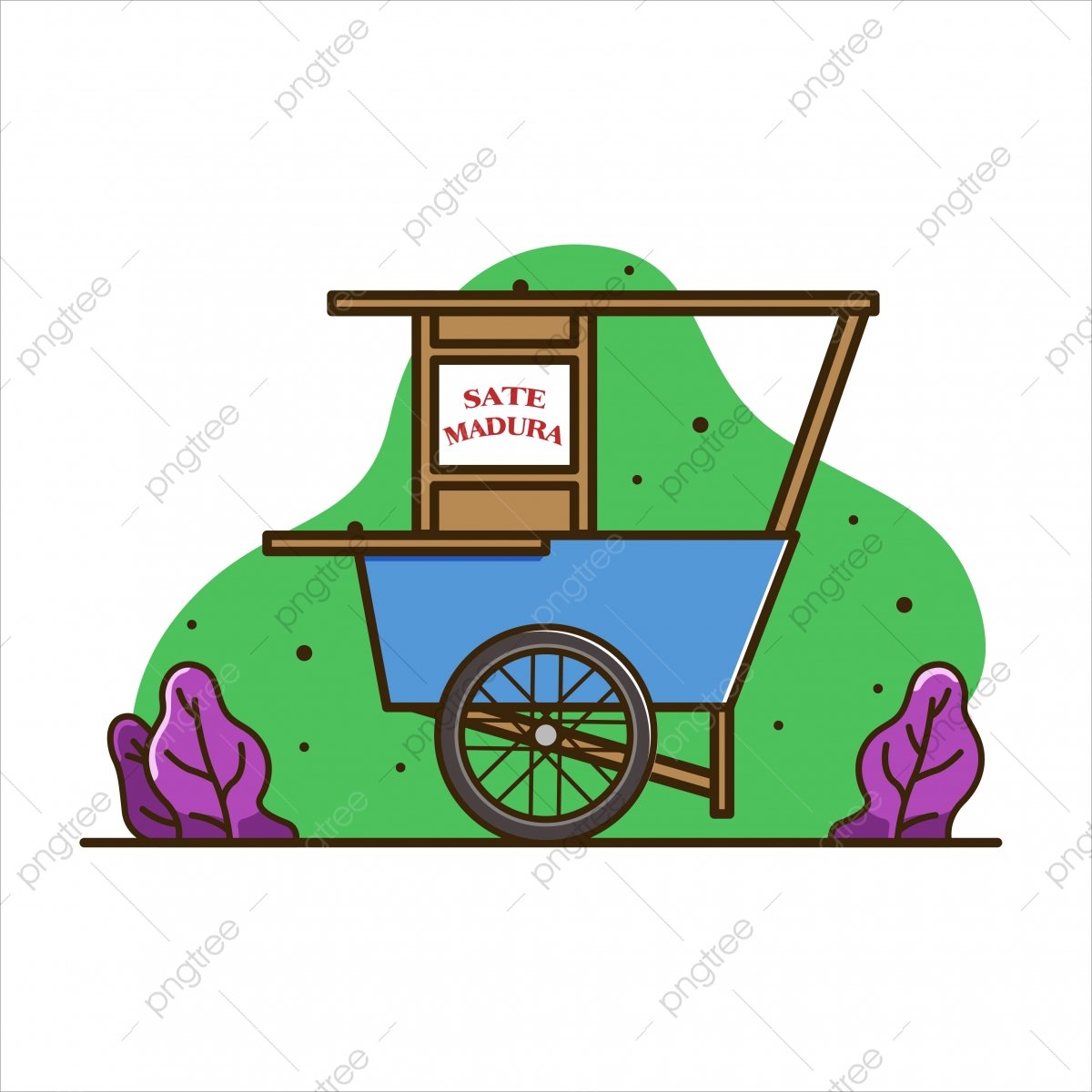 nusantara png images vector and psd files free download on pngtree https pngtree com freepng illustration of satay madura cart cart food illustration cart indonesia isolated vector 5295300 html