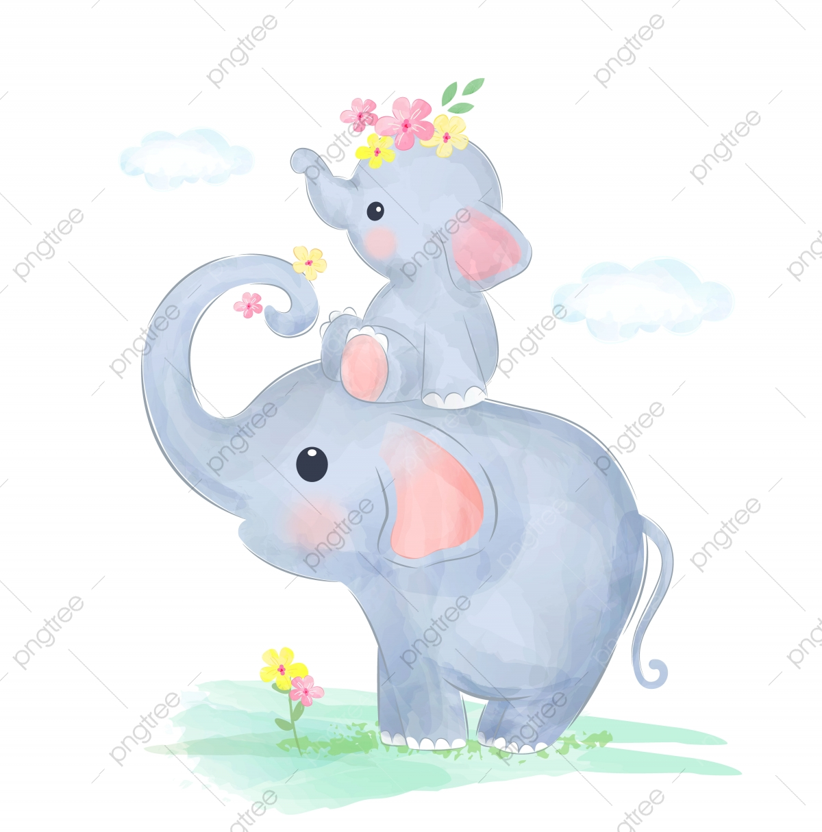 Elephant Clipart Png Image Transparent Baby Elephant Png / Download 6,791 baby elephant free vectors.