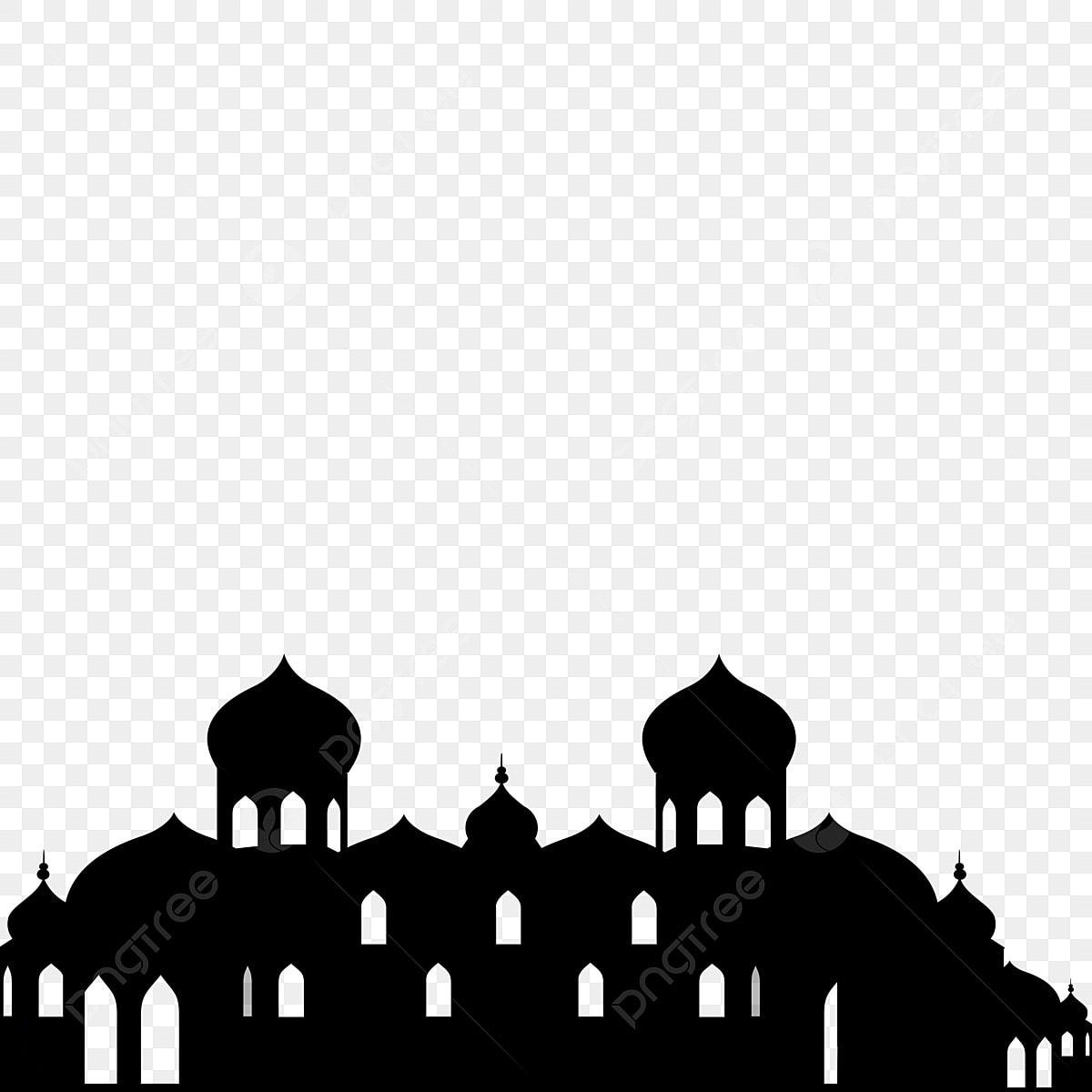 Gambar Bayangan Hitam Masjid Bayangan Hitam Masjid Masjid Hitam Bayangan Png Dan Psd Untuk Muat Turun Percuma