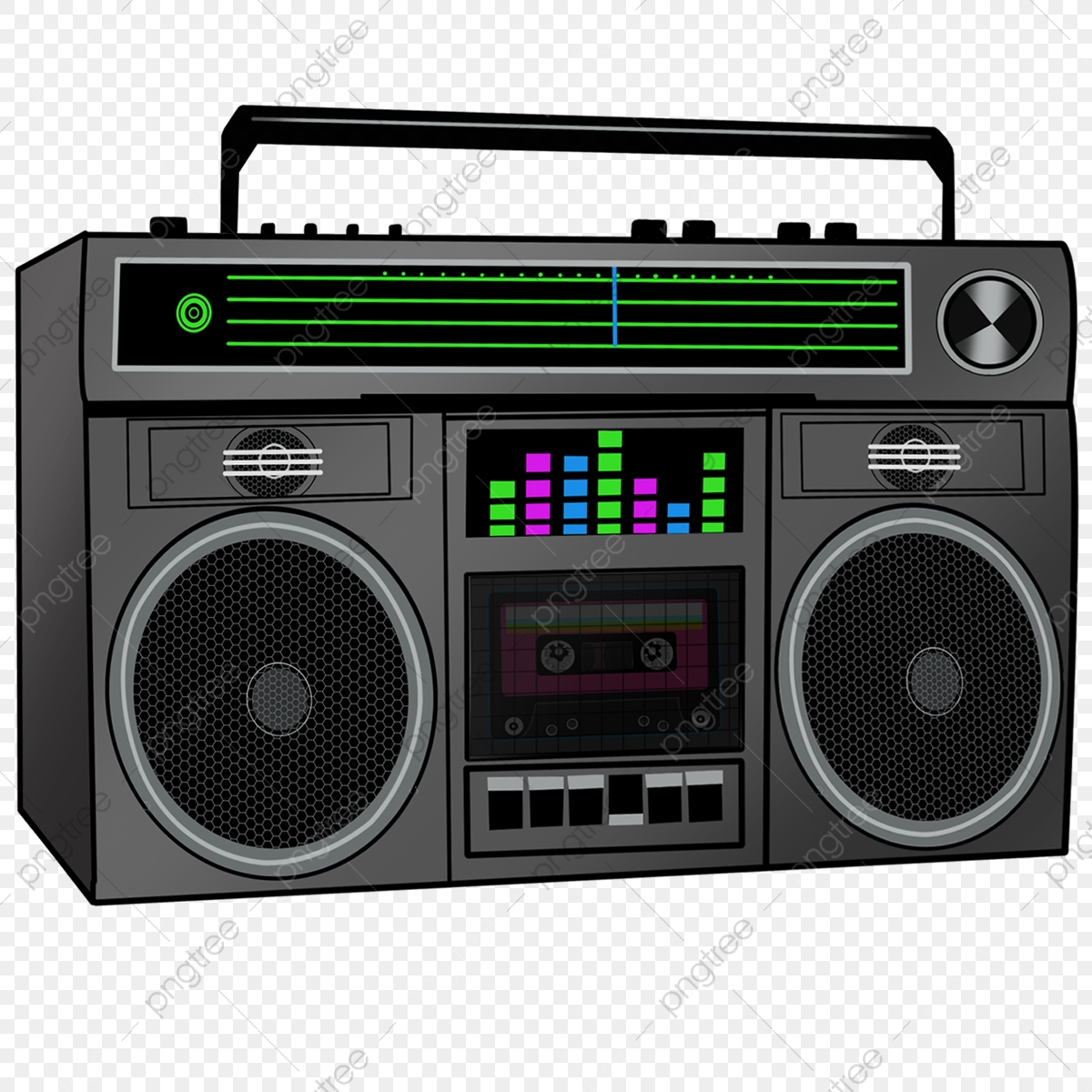 Logo Blown Up Boombox - Boombox , Free Transparent Clipart - ClipartKey
