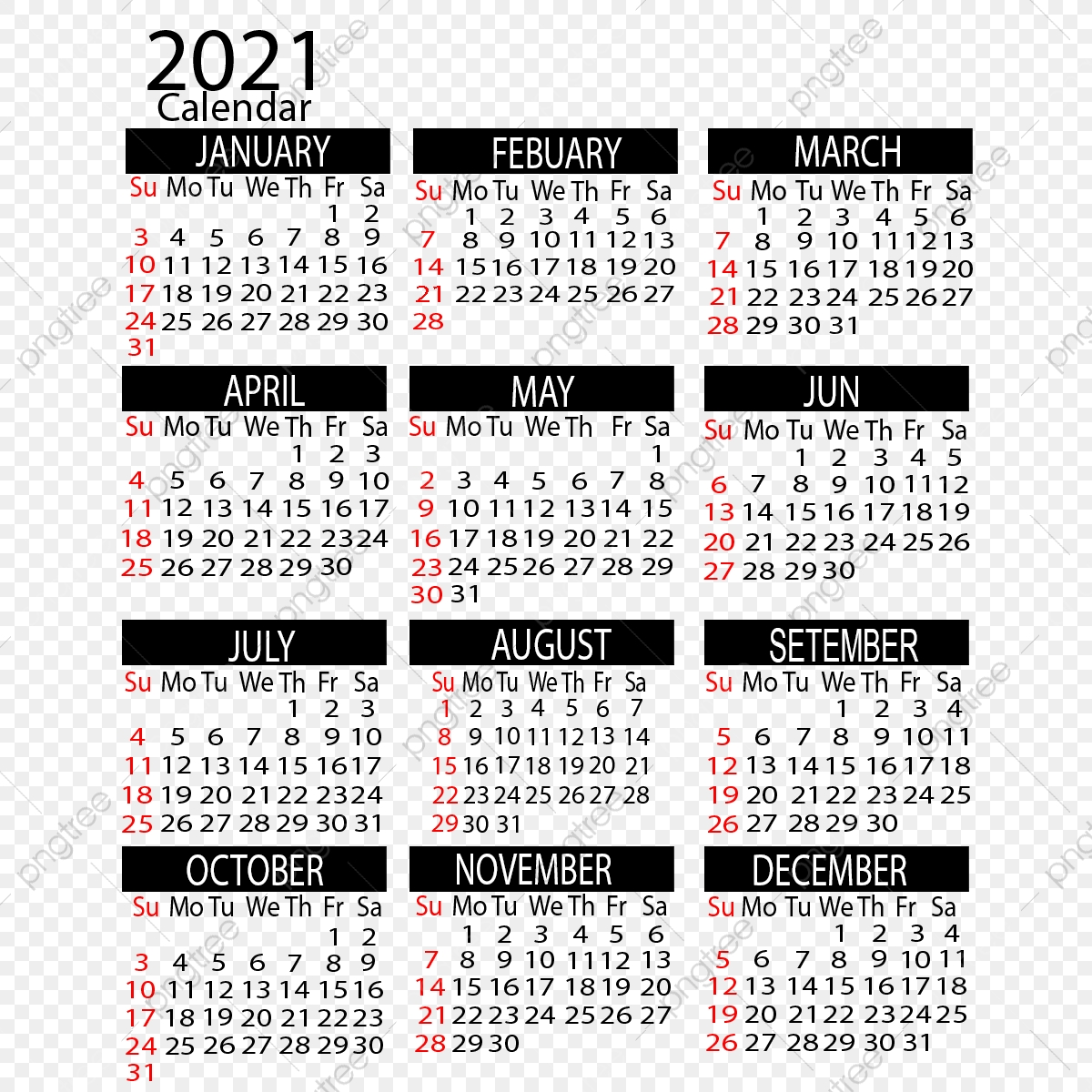 View 38+ 29+ Psd Template Kalender 2021 Png Pics PNG