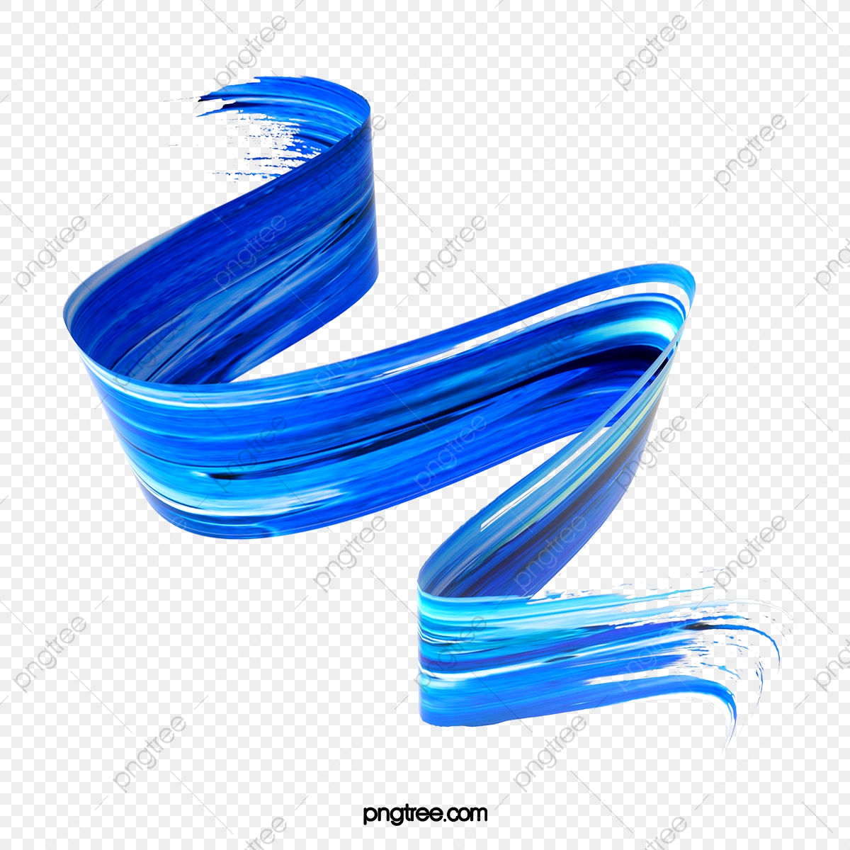 Blue Brush Png Images Vector And Psd Files Free Download On Pngtree