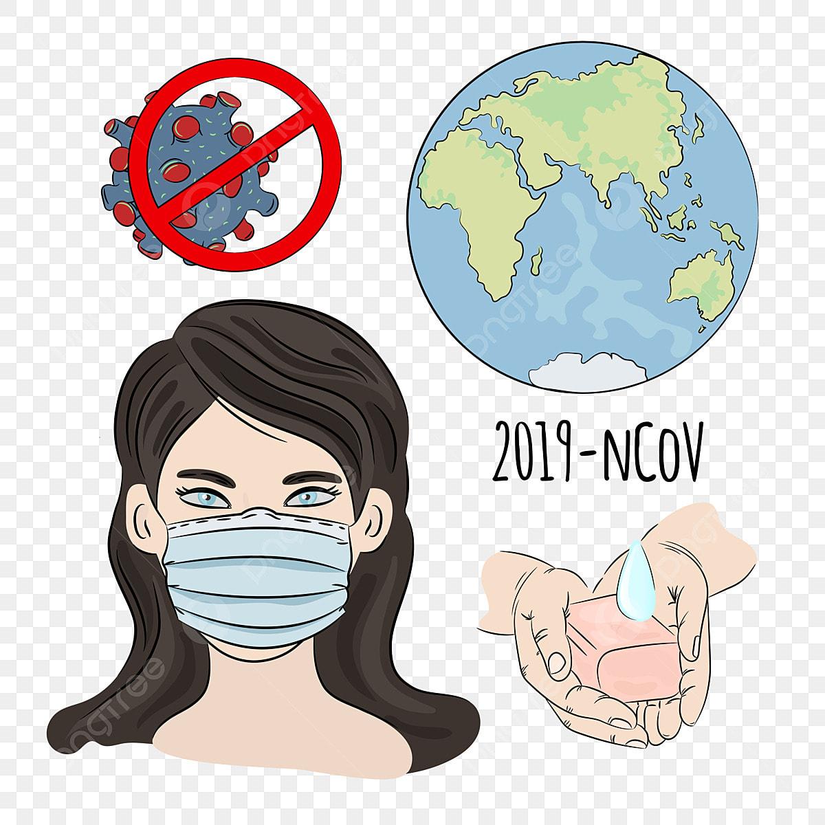 Ncov In Mask Coronavirus Health Earth Human Epidemic