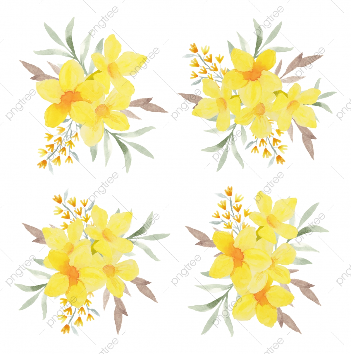 Tropical Flower Png Vector Psd And Clipart With Transparent Background For Free Download Pngtree