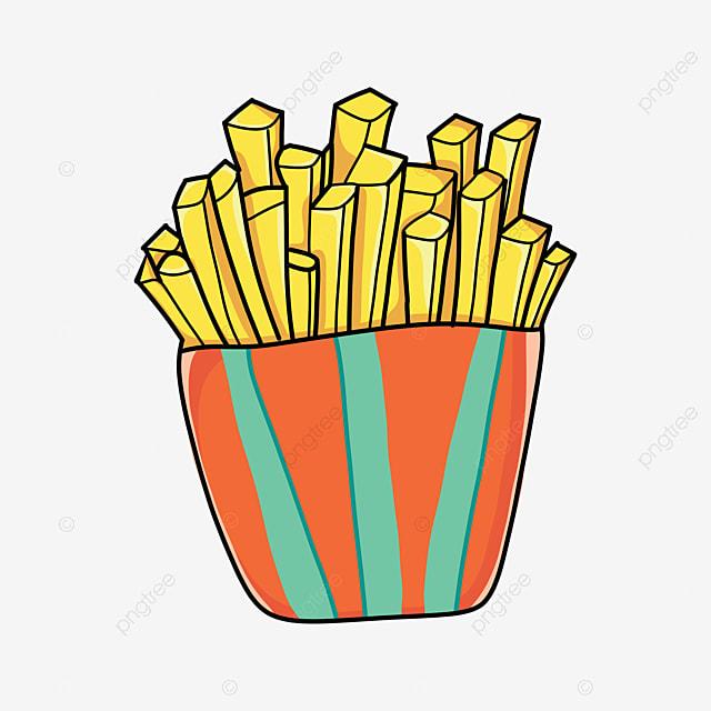 تصوير بسبب شرائح بطاطا مقلية سهم التوجيه سينما كليبارت Junkfood طعام Png وملف Psd للتحميل مجانا
